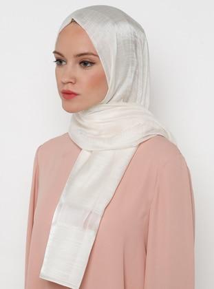 Cream - Plain - Shawl