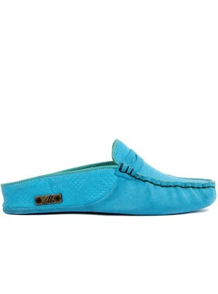 Turquoise - Slippers