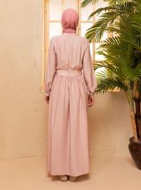 Powder - Polo neck - Unlined - Nylon - Viscose - Dress