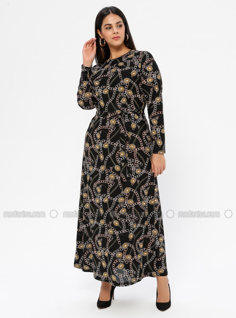Mustard - Plus Size Dress