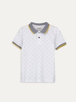 White - Boys` T-Shirt - LC WAIKIKI