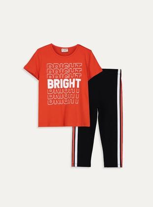 Orange - Girls` Suit