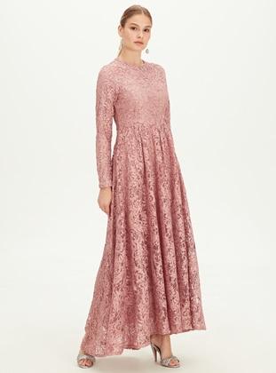 Printed - Pink - Dress