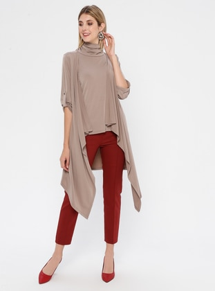 Mink - Polo neck - Tunic