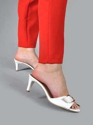 White - Slippers
