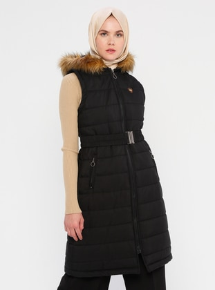 Black - Fully Lined - Vest