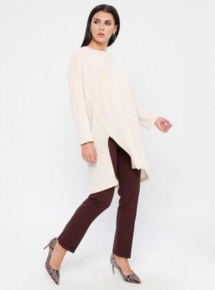 Brown - Nylon - Pants