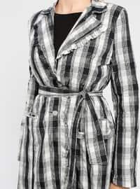 Smoke - Unlined - Shawl Collar - Trench Coat