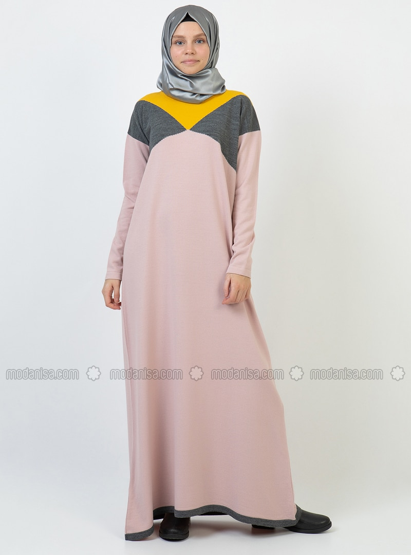 Powder - Unlined - Acrylic - Dress