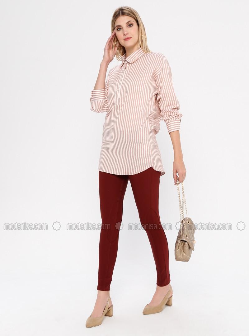 Terra Cotta - Nylon - Pants