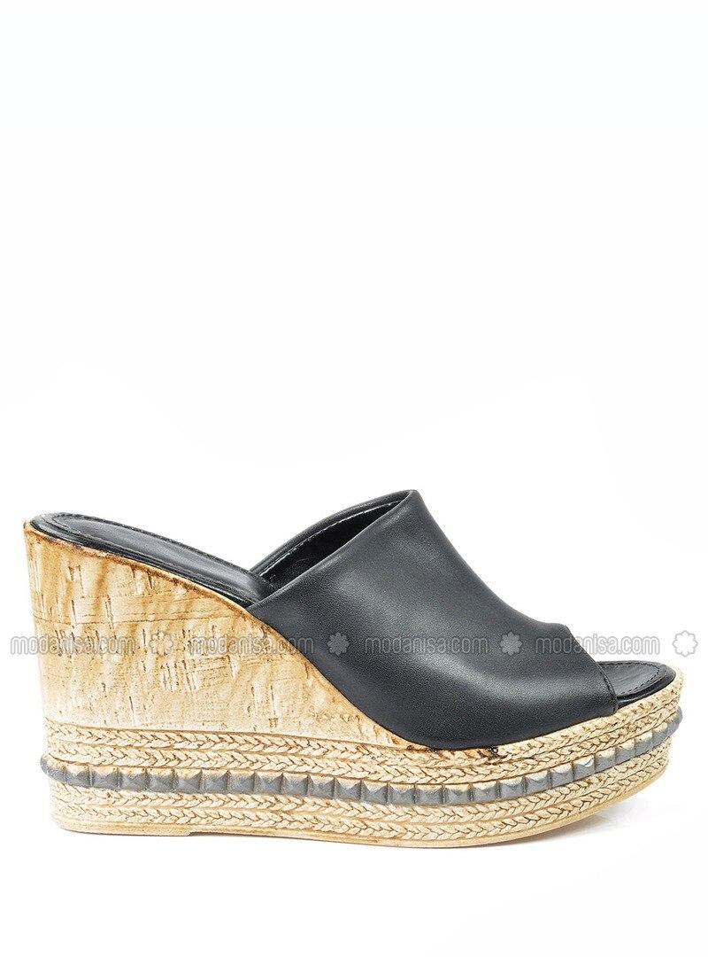 Black - Slippers