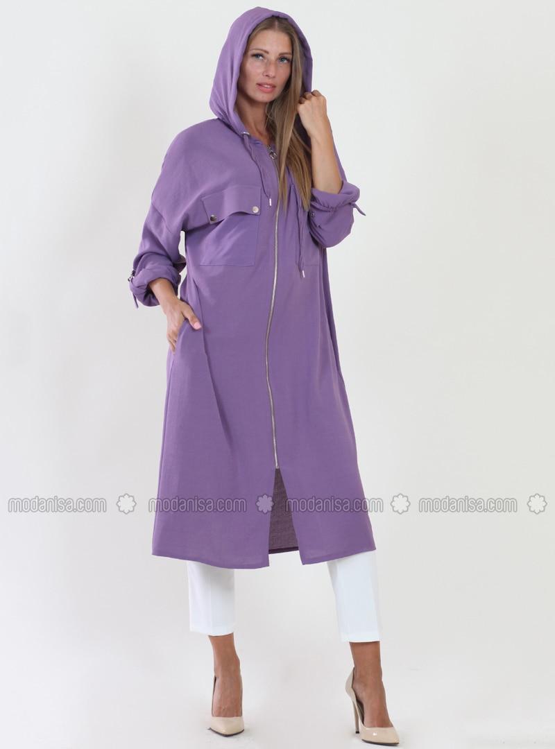 Lilac - Fully Lined - Viscose - Topcoat