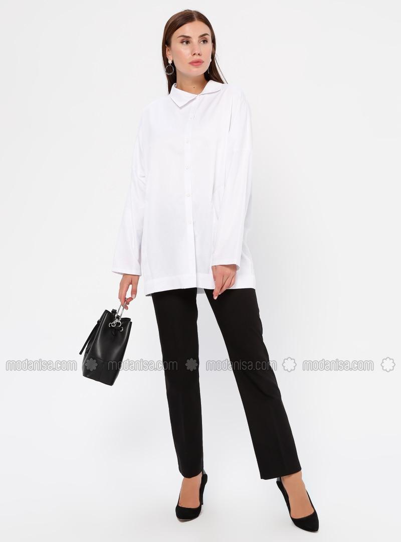 Black - Nylon -  - Pants