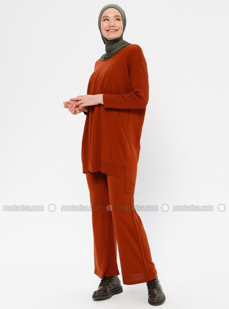 Cinnamon - Unlined - Acrylic -  - Suit