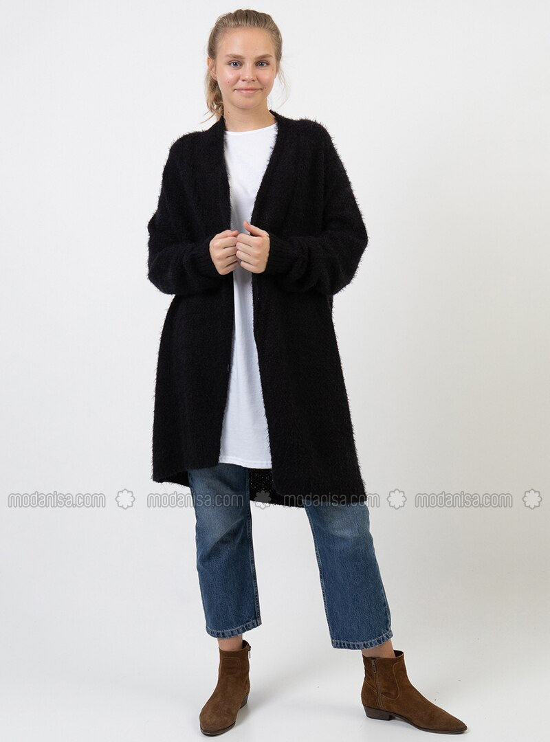 Black -  - Cardigan