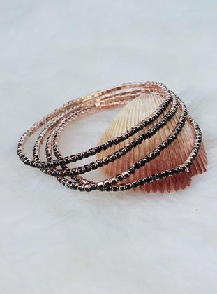 Rose - Black - Bracelet