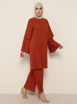 Terra Cotta - Unlined - Suit