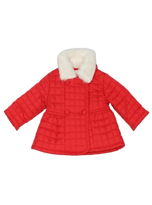 Polo neck -  - Red - Girls` Coat