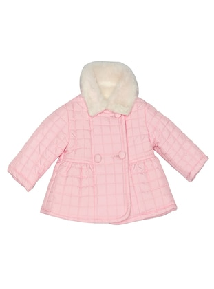 Polo neck -  - Pink - Girls` Coat