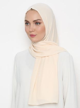 Cream - Plain - Shawl