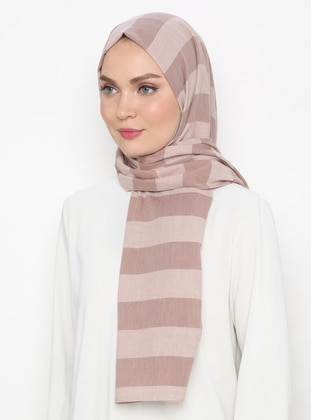 Stone - Striped - Shawl