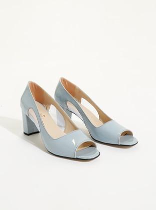 Blue - Sandal - High Heel - Heels