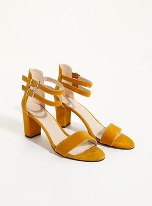 Mustard - Sandal - High Heel - Heels