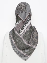 Multi - Printed -  - Scarf