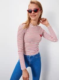 Stripe - Red - T-Shirt