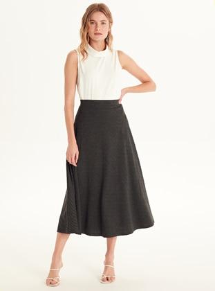 Printed - Anthracite - Skirt