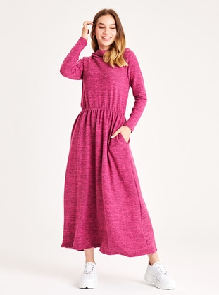 Fuchsia - Unlined -  - Dress