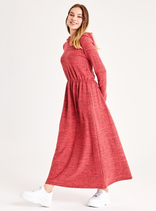 Coral - Unlined -  - Dress