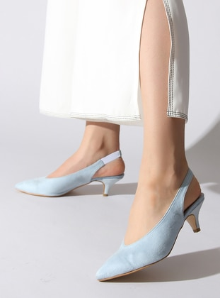 Blue - High Heel - Shoes