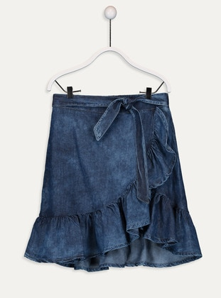 Indigo - Girls` Skirt - LC WAIKIKI