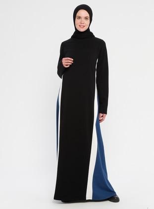 Indigo - Black - Indigo - Black - Indigo - Black - Indigo - Black - Dress