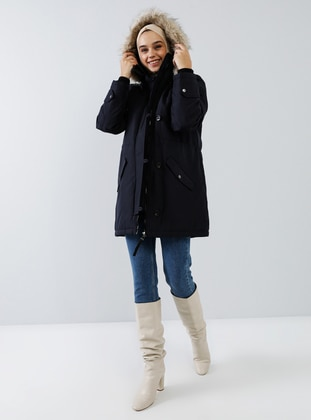 Navy Blue - Unlined - Puffer Jackets