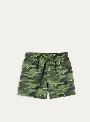 Khaki - Boys` Swimsuit