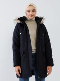 Navy Blue - Unlined - Puffer Jackets