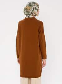 Cinnamon - Crew neck - Acrylic -  - Knit Tunics
