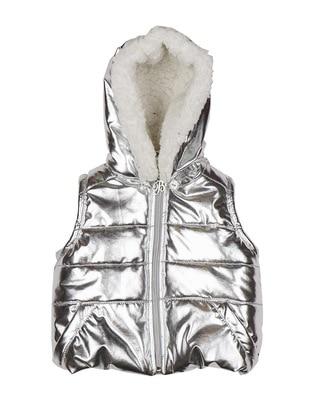 Polyurethane - Unlined - Silver tone - Baby Vest