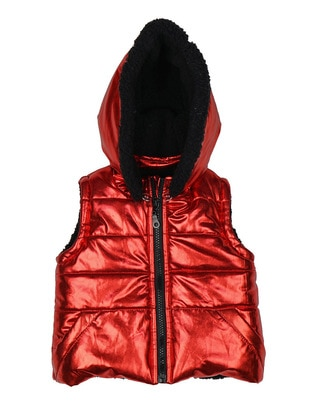 Polyurethane - Unlined - Red - Baby Vest