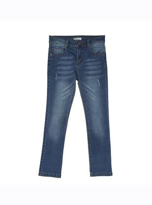 - Unlined - Blue - Boys` Pants