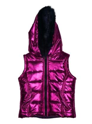 Polyurethane - Unlined - Fuchsia - Girls` Vest