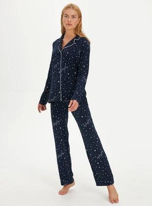 Navy Blue - Pyjama - LC WAIKIKI