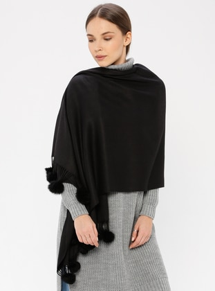 Black - Shawl Wrap