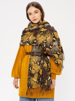 Mink - Printed - Shawl Wrap