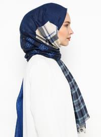 Blue - Ethnic - Shawl