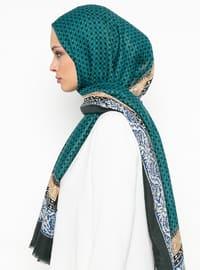 Green - Ethnic - Shawl