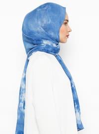 Blue - Ethnic - Shawl Wrap