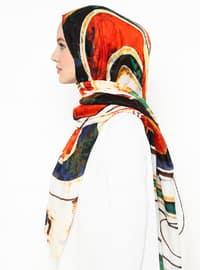 Ecru - Ethnic - Shawl